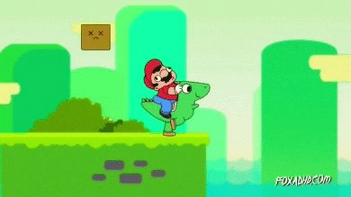 Such an awesome gif 'asshole mario'.