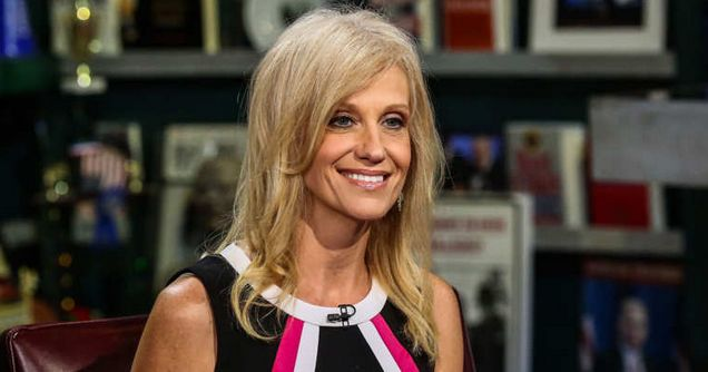 Trump Advisor Kellyanne Conway: I Can't be a Feminist Because They Hate Men and Love Abortion