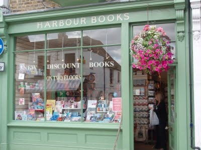 Patricia's little bookshop, Favourite, was modeled on Harbour Books (fittingly located on Whitstable's Harbour Street).