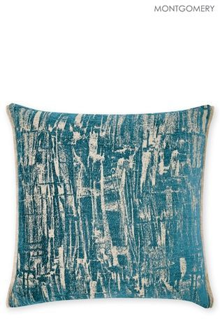 Buy Montgomery Flouro Teal Cushion from the Next UK online shop