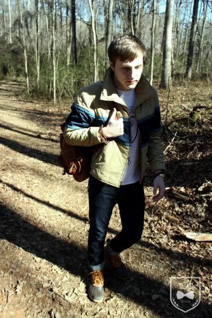 Bean Boots and a hike - L.L.Bean