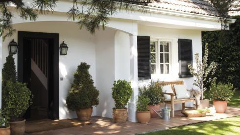 Die besten 25 k che mediterran gestalten ideen auf - Hauswand farbig gestalten ...