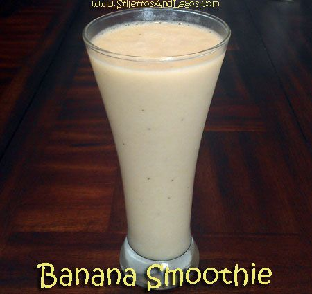 Banana Smoothie ~ Zero Weight Watchers PointsPlus ~ Zero Calories ~ And only TWO ingrediants!!!