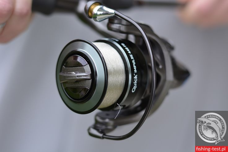 Kołowrotek D.A.M Quick Impulse 440 FD #wędkarstwo #spinning #kołowrotki