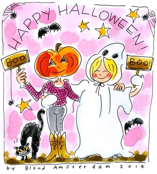 'Happy Halloween! - Blond Amsterdam