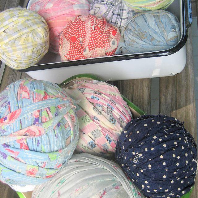 Rag Ball Crochet Workshop Pattern by fivegreenacres, via Flickr: Fabrics Yarns, Patterns Fabrics, Patterns Pdf, Dragon Ball Z, Green Acr, Crochet Workshop, Crochet Patterns, Fabrics Crochet Rugs, Crochet Idea