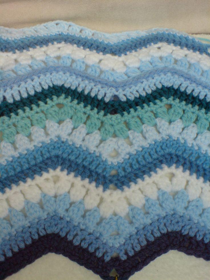 239 best MANTAS TEJIDAS images on Pinterest | Blankets, Crochet ...