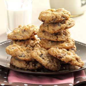 Wyoming Cowboy Cookies Recipe from Taste of Home -- shared by Patsy Steenbock of Shoshoni, Wyoming