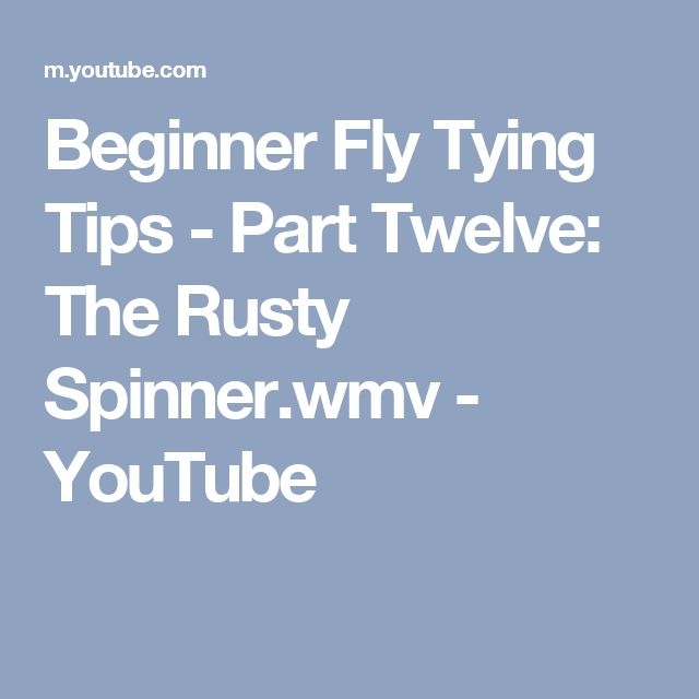 56 best images about fly tying beginners lessons on