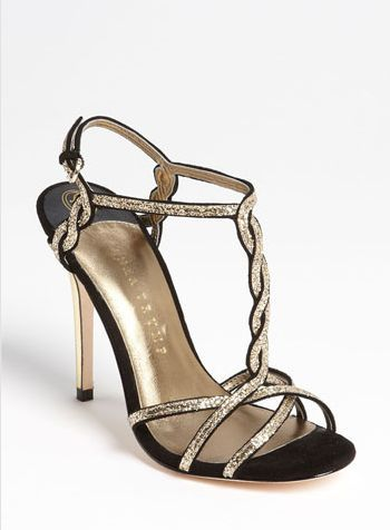 REVEL: Black + Gold Wedding Shoes