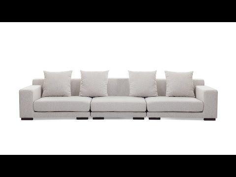 Sofa - Couch - Modular Sofa - 3 Seater - Beige - CLOUD
