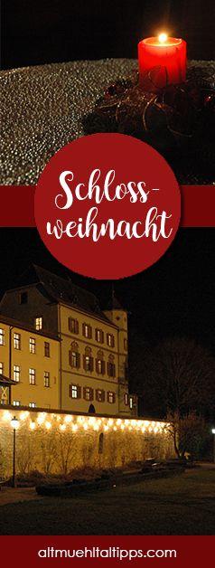 Romantischer Weihnachtsmarkt in Bayern? Wie wäre es mit der Schlossweihnacht in Treuchtlingen? Gemütliches Flair, tolles Ambiente und leckerer Glühwein erwarten euch!
