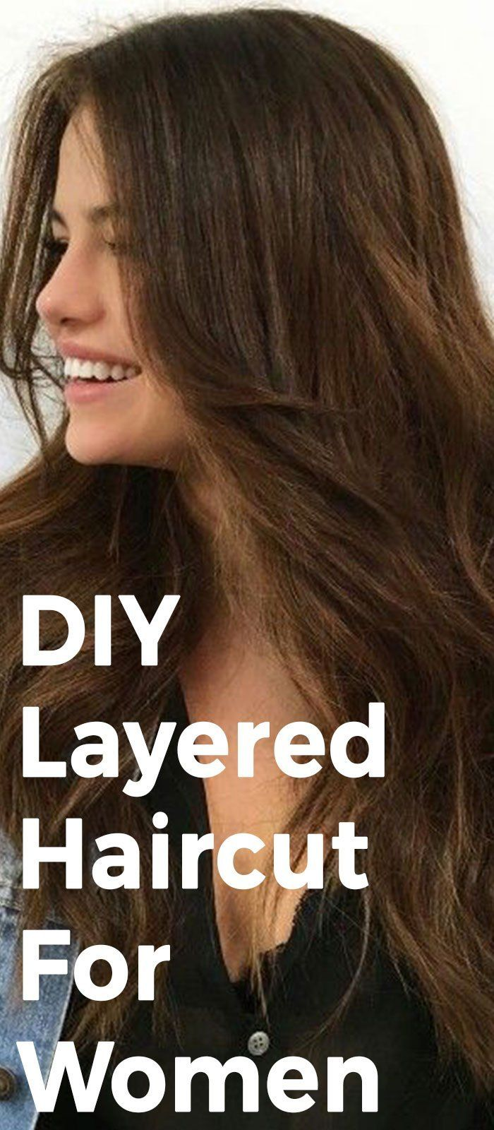 how to get the perfect layered hair according to your face