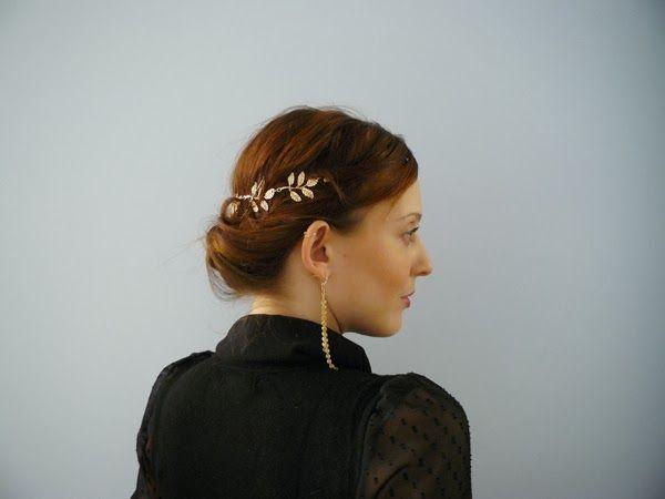 Le blog du cheveu : Coiffure de déesse grecque avec un headband. partenariat headband.fr