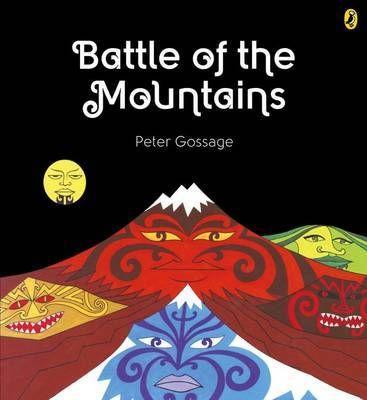 Tongariro is forced to battle three strong mountains, Taranaki, Tauhara and Putauaki, to keep his wife, Pihanga, safe from harm.