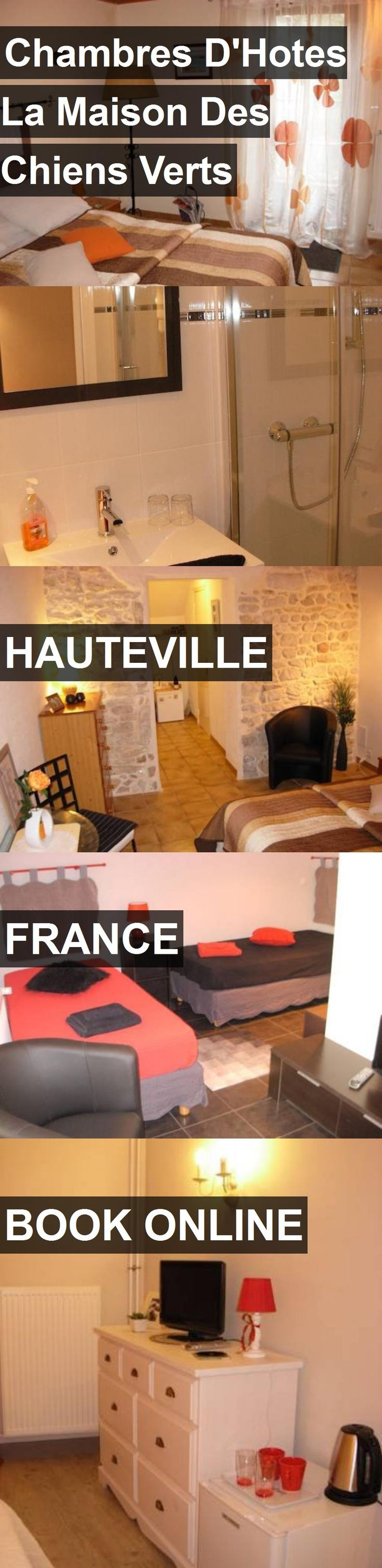 Hotel Chambres D'Hotes La Maison Des Chiens Verts in Hauteville, France. For more information, photos, reviews and best prices please follow the link. #France #Hauteville #travel #vacation #hotel