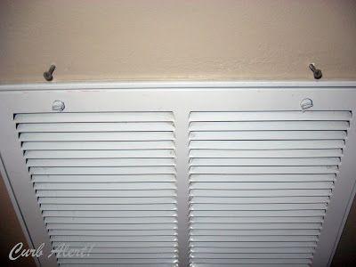 Curb Alert! : Repurposed Door Mat to Cover an Ugly Return Air Vent