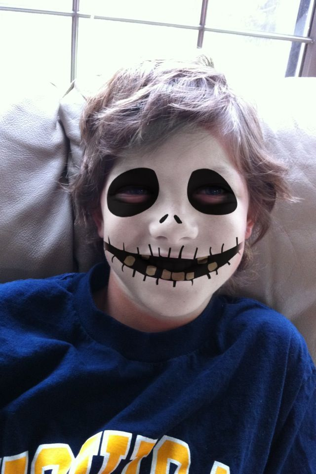 17 Best images about Spooky kids face painting on ...