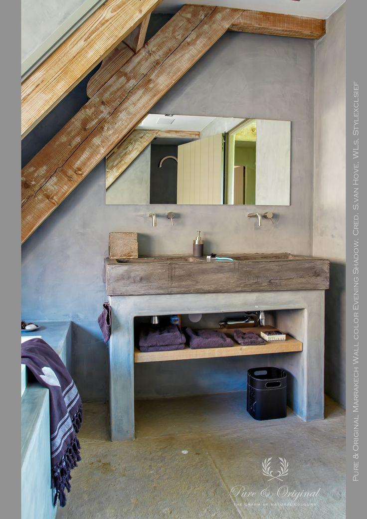 25 beste idee n over verf badkamer op pinterest - Badkamer verf grijs ...
