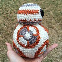 2000 Free Amigurumi Patterns: BB-8 Star Wars crochet pattern
