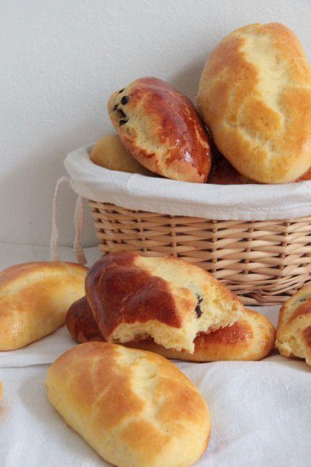 Petits pains au lait et au chocolat de Clémentine et Michel Oliver (sans gluten) - iZa kitchen