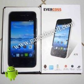 EVERCOSS A7E, Android KitKat, Quad Core Processor, Kamera 8MP