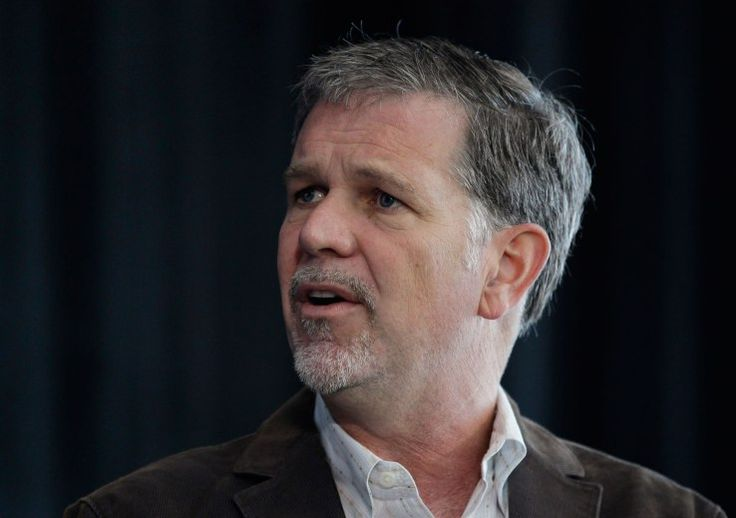 Netflix co-founder and CEO Reed Hastings doubled down on statement's he's made about Trump's immigration policy when he took the stage at Code Con on..
