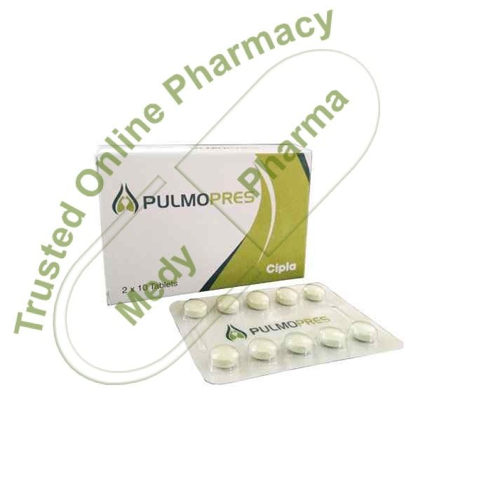 Buy Pulmopres 20mg Pulmopres 20mg Tablet is used in the treatment of erectile dysfunction and pulmonary hypertension. It is also used in erectile dysfunction with benign prostatic hyperplasia (enlarged prostate)   Side effects of Pulmopres Tablet Headache, Nausea, Nasopharyngitis, Flushing (sense of warmth in the face, ears, neck and trunk), Dyspepsia, Muscle pain, Back pain, Pain in extremit   #contentofpulmopres #pulmopres #pulmopres10mg #pulmopres20 #pulmopres20mg #p