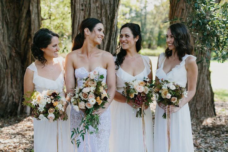 Tahlia and her Bridesmaids