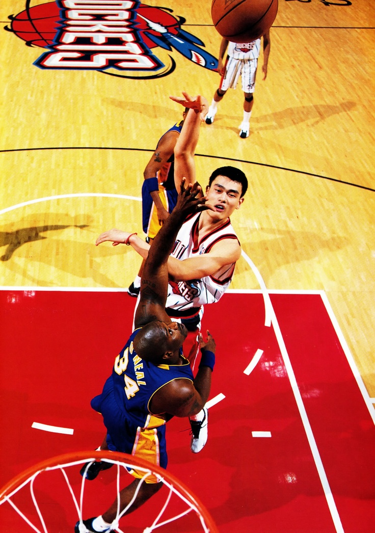 Yao Ming And Shaq 1000+ images about nba...