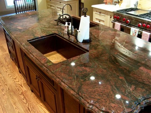Kitchen Countertops Granite 28 best vibrant red granite kitchen countertops images on