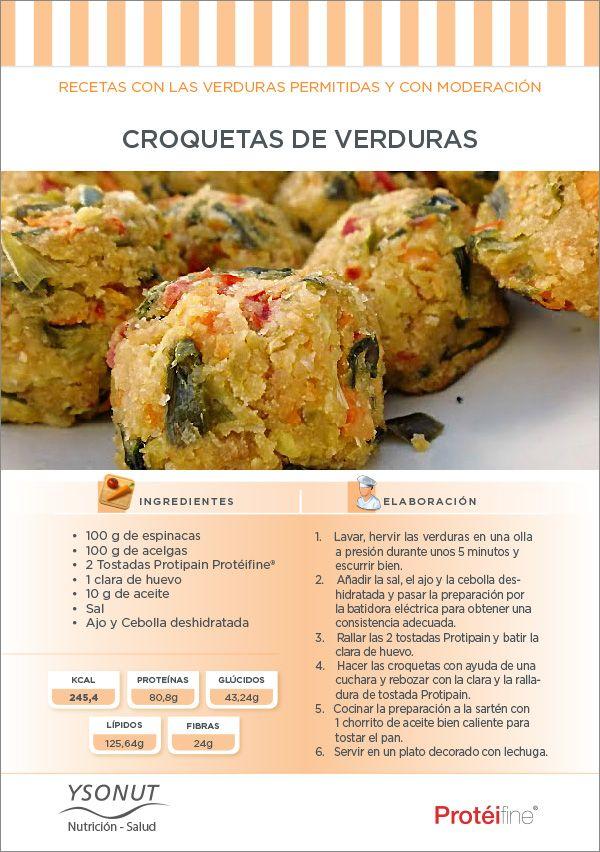 Sorprénde a tus invitados con nuestras croquetas de #verduras. ¡Deliciosas!