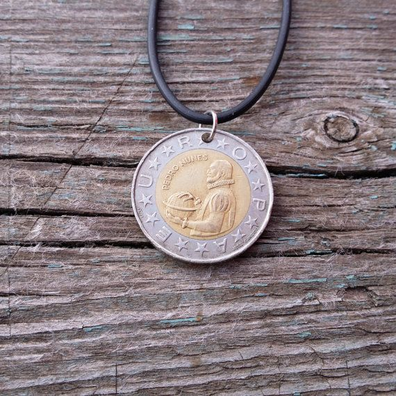 Coin necklace. Portugal 100 Escudos 1990. от JewelryForYourself