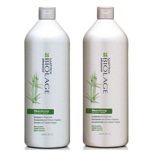 Matrix Biolage Fiberstrong Shampoo And Conditioner >>> See this great product.(This is an Amazon affiliate link and I receive a commission for the sales)