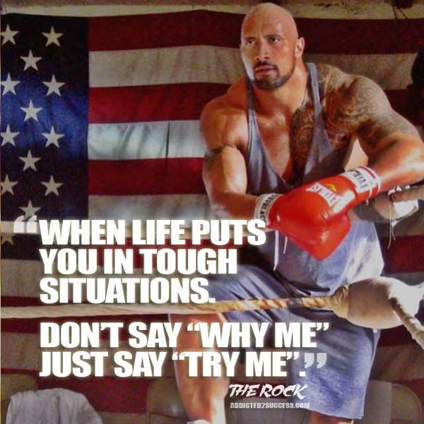 The 24 Best The Rock   Quotes Images On Pinterest | Motivational Picture  Quotes, Dwayne Johnson Quotes And Fit Motivation