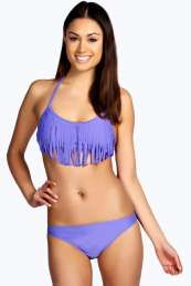 buymadesimple.com: Fringe Bikini - lilac