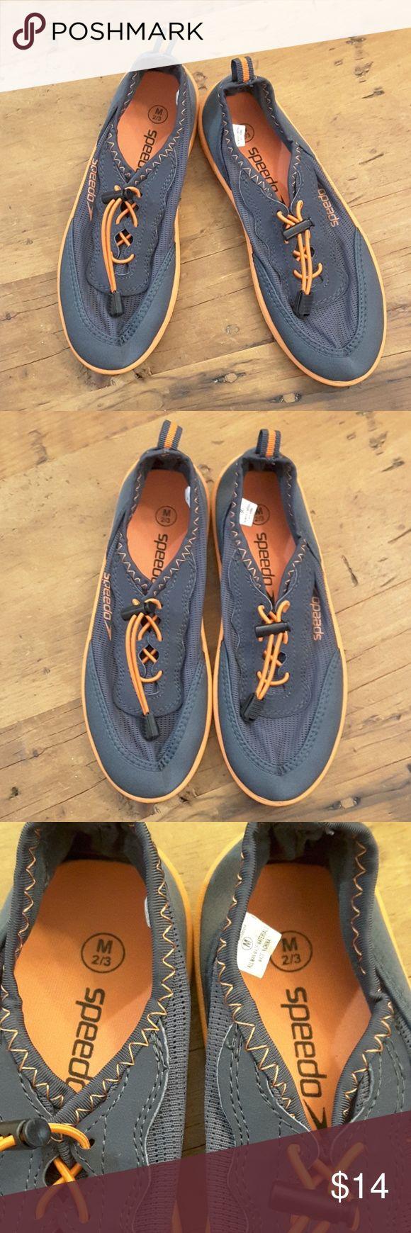 Speedo water shoes Blue and orange Speedo water shoes, size medium 2/3 Speedo Shoes Water Shoes