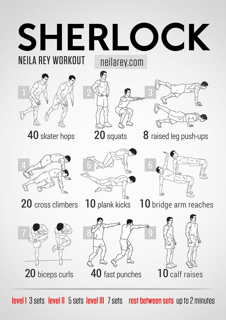 Sherlock Workout #neilareyworkout #soumormonfitness
