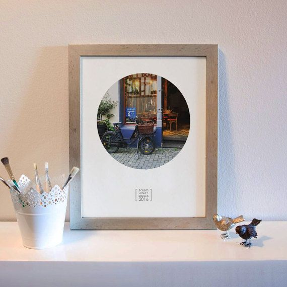 Photography Print: Bacharach Bike & Shop