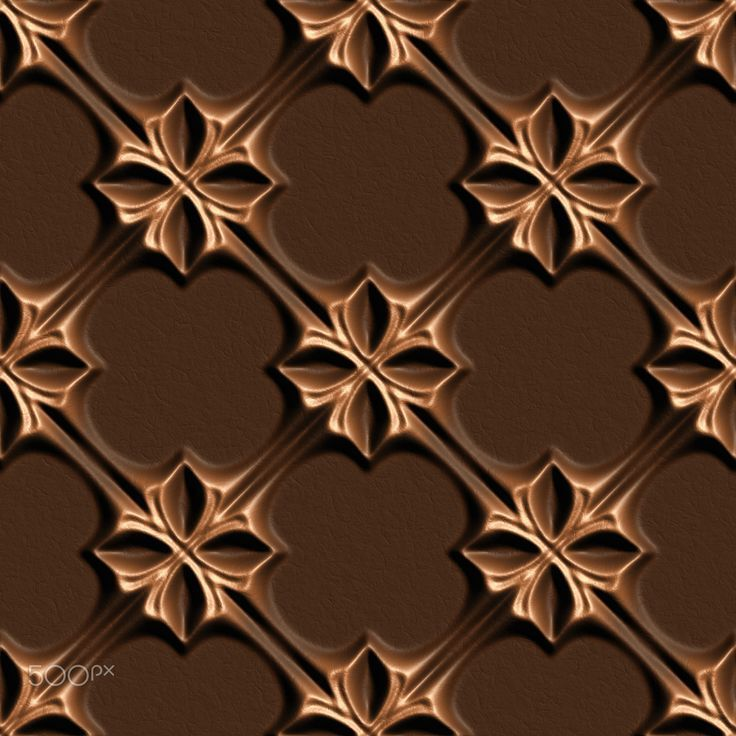 leather04055 - Brown Skin Illustrations, 3D seamless background pattern.
