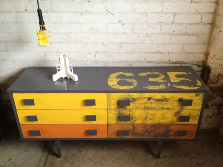 Retro Vintage Industrial Sideboard Drawers | eBay. Wow, so sad it's in Victoria and local pick up only.