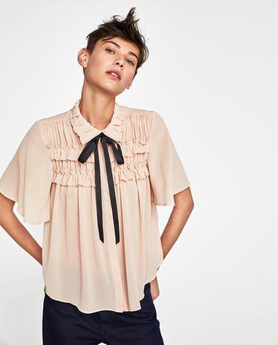 Blusas e camisas para Mulher | Nova Coleção Online | ZARA Portugal