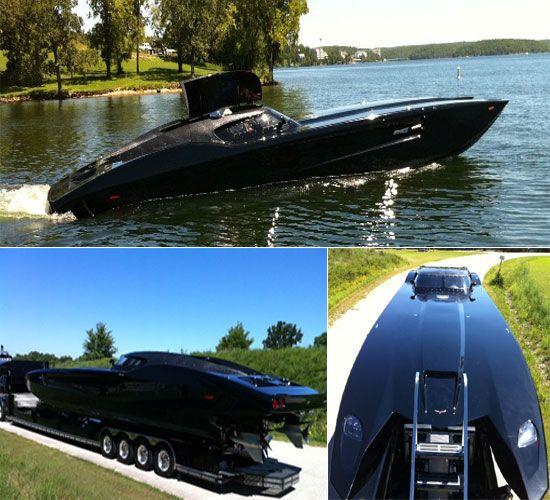 Corvette-inspired 2,700 HP Corvette boat Powerboat for sale at $1.7 million