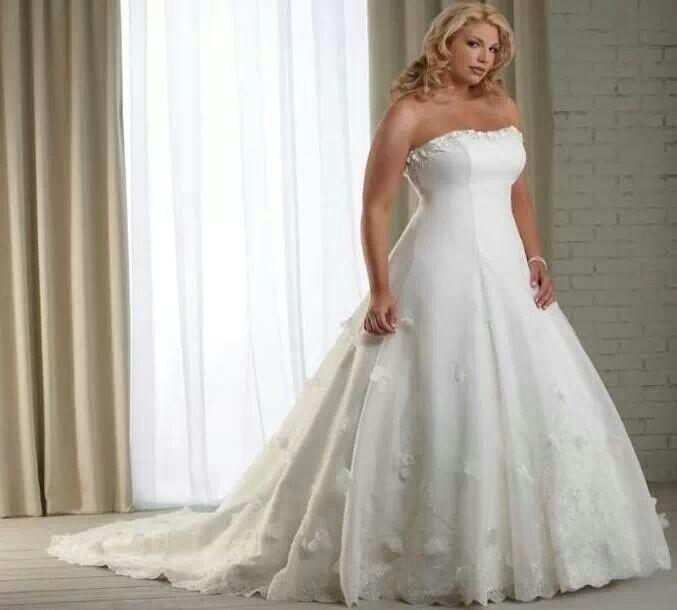 Full Figured Wedding Dress