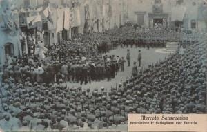 Mercato S. Severino in guerra.