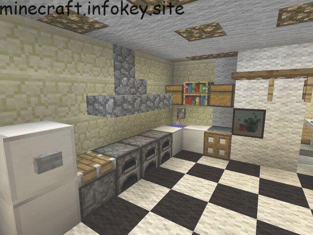 Kitchen Minecraft Furniture Minecraft Kitchen Ideas Minecraft Interior Design Minecraft House Designs