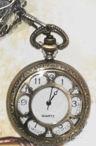 F66176 Prop Steam Punk Open Face Pocket Watch Forum. $4.77