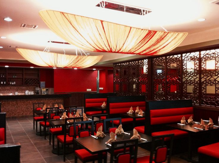 Asian style tables for restaurants