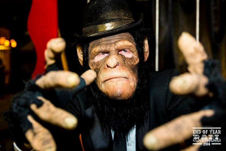 Monkey man at End of Year Ball 2014  #EOYB2014