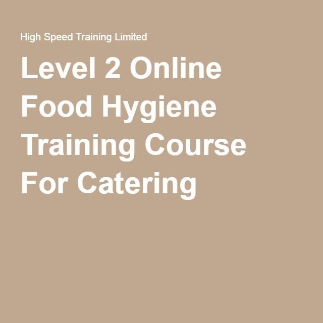 food safety training courses pdf